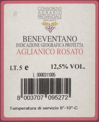 Rosato 'Bag in Box' IGP 5 Liter