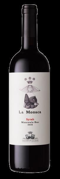 2016er Sallier de La Tour La Monaca Syrah Monreale DOC