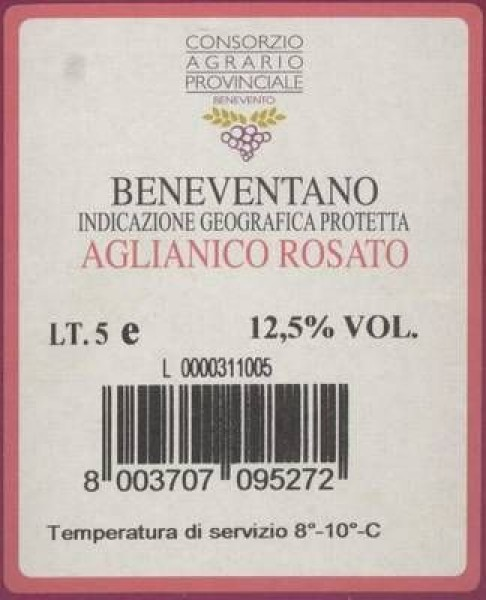 Rosato 'Bag in Box' IGP 5 Liter